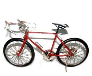 אופני ספורט אדומות