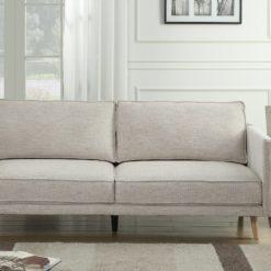 ספה דו מושבית מבד
