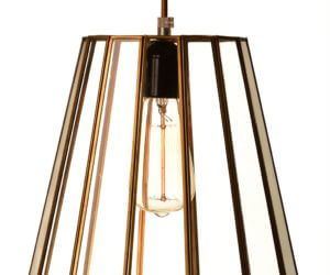 מנורה לתלייה גאומטרית